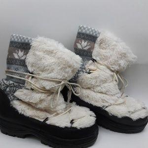 Muk Luks Massak Winter Boots with Thinsulate
